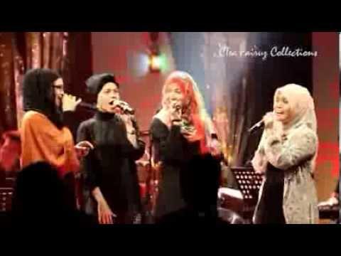 Siti Nurhaliza,najwa Latif,alyah & Shila Amzah- Medley Popular video