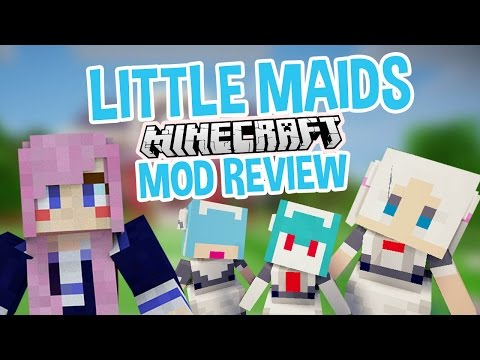 Little Maids   Minecraft Mod
