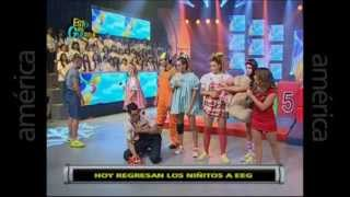 Esto Es Guerra: La Niita Sully Se Pelea Con Yaco Y Natalie - 06/05/2013