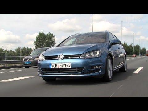 VW Golf 7 Variant Test - YouTube