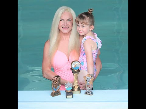 Phenomenal Swimming Teacher The Water Whisperer teaches 3 & 4 yr olds to swim 1/4 of a mile & 1 MILE