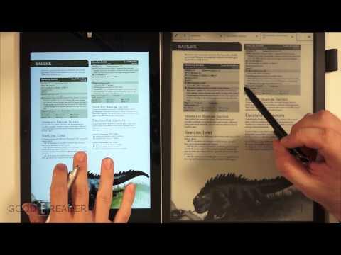 Sony Digital Paper vs Microsoft Surface Pro 3