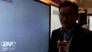 "ISE 2017: Shenzhen iBoard Technology IR 86"" Touch Screen Monitor"