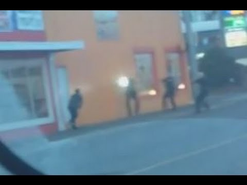 Shock Video  Police Execute Man With His Hands Up