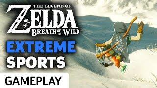 Extreme Sports Zelda: Breath Of The Wild Style