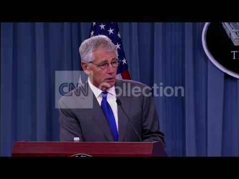 PENTAGON BRFG-HAGEL- NSA SURVEILLANCE