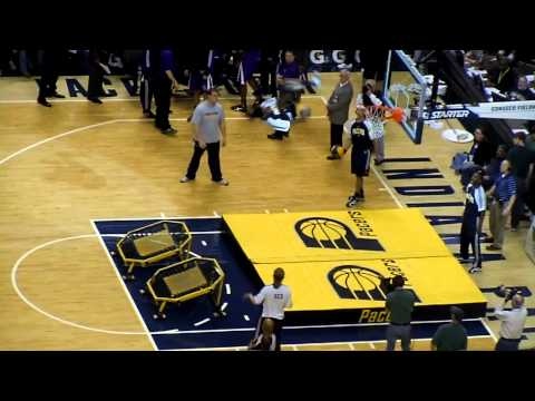 Pacers half-time entertainment