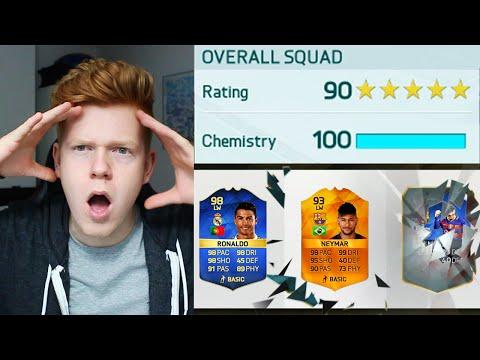 THE MOST INSANE 190 FUT DRAFT!! - FIFA 16 ULTIMATE TEAM