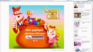 facebook candy crush can ve eşya hilesi
