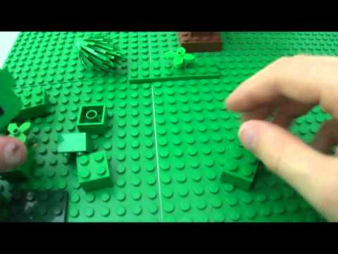 How to make a lego creeper Music Videos