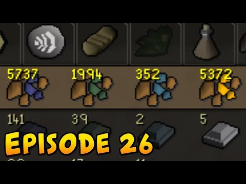 I mined all of this. - Runescape Progress Episode 26