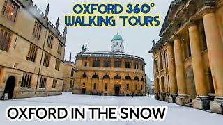 "Oxford ""Virtual Reality"" walking tour Sheldonian,Bodleian,Radcliffe Camera,Bridge of Sighs-March '18"