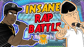 INSANE ANIMATED RAP BATTLE - Ownage Pranks