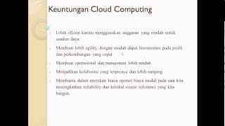 Sistem Terdistribusi Cloud Computing 4KA09