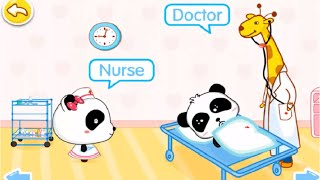 Baby Panda Learn About Occupations | Twelve Occupations To Discover | Babybus Kids Games