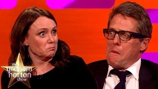 Hugh Grant's Funny Reaction To Tomb Raider Sound Effects - The Graham Norton Show