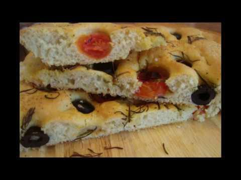 Фокаччa.Вкусный,хрустящий,ароматный итальянский хлебушек.