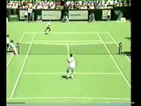 Pete Sampras great shots selection against Alex Corretja (Kooyong Classic 2002 1R)