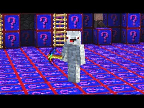 die ganze Base besteht aus Shade Lucky Blocks.. Minecraft LUCKY BLOCK BEDWARS