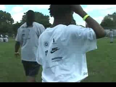 The Marion Barber Football Camp Video