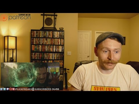 Doctor Strange - Official Trailer 2 (Reaction & Review)