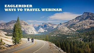 Ways to Travel EagleRider Webinar