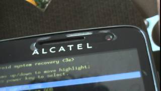 hard reset alcatel one touch 5020A