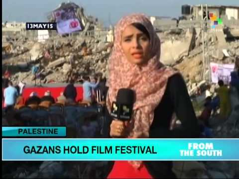 Gaza Human Rights Film Festival Held Amid Rubble