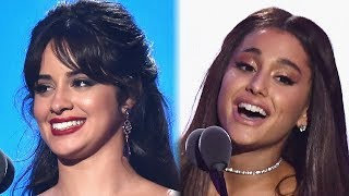 Camila Cabello Calls Ariana Grande Her 'WIFEY' During 2018 MTV VMAs Speech