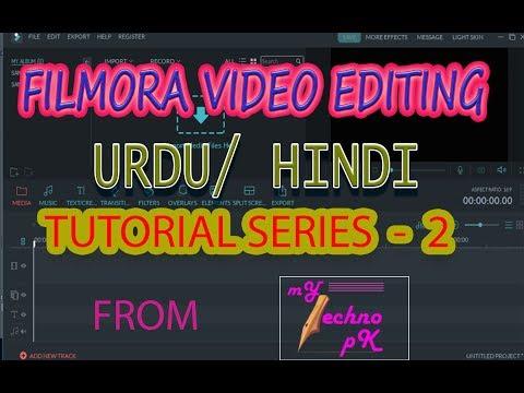 Video Editing Tutorial Series Part 2 - Filmora