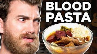 International Noodles Taste Test