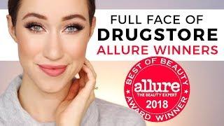 Full Face Using Allure Drugstore Winners 😱