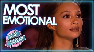 Most EMOTIONAL Golden Buzzer Auditions EVER? | Top Talent