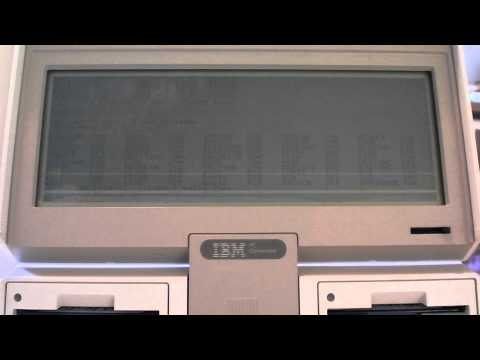 IBM PC Convertible 5140 Demonstration