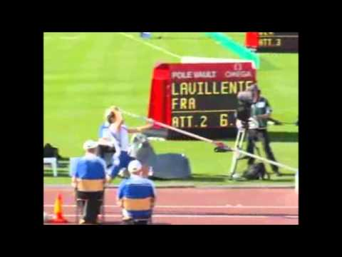 Pole Vault Renaud Lavillenie Slow Motion Take-off