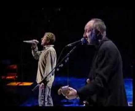 The Who-Behind Blue Eyes@Concert For New York City 3/4 Music Videos