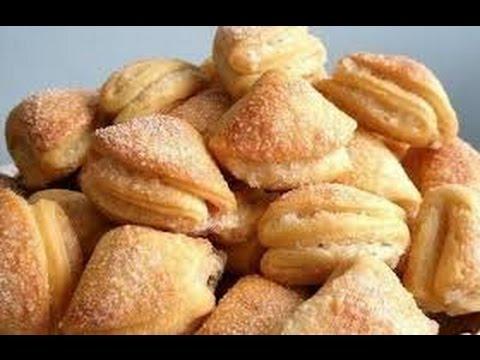 Как приготовить печенье из творога - видео