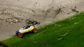 FG Baja Buggy 2WD on the beach