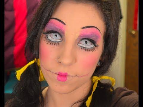 Dead Doll Halloween Makeup Ideas Creepy Doll Halloween Makeup