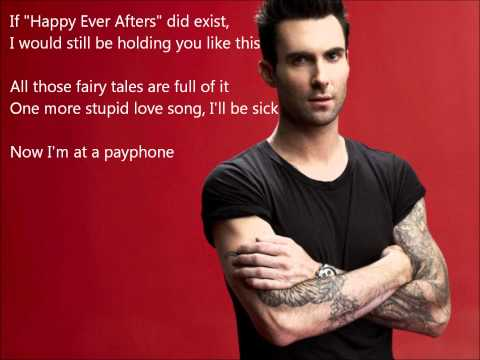 Maroon 5 - Payphone Clean No Rap (lyrics) | Payphone Clean Without Wiz Khalifa video