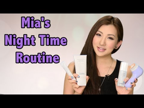My Night Time Skincare Routine