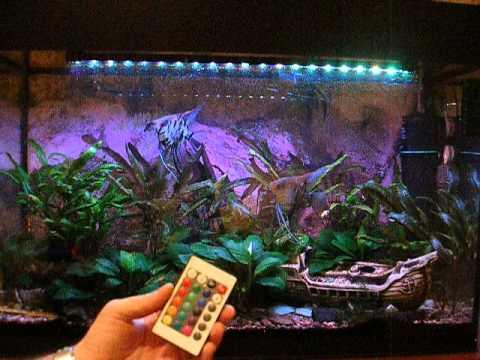 Светодиодная лента в аквариум своими руками 68
