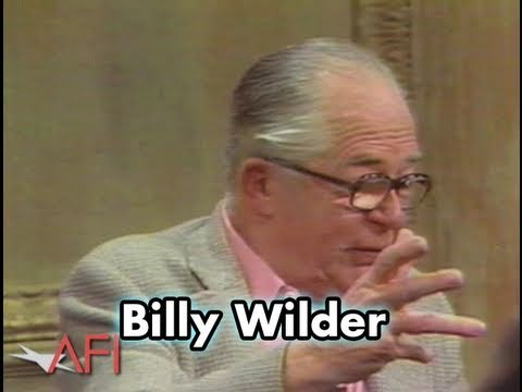 Advice From Billy Wilder: Be A Special Effects Artist Or A Stuntman