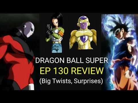 Goku MUI VS Jiren   Dragon Ball Super Episode 130 REVIEW (BIG TWISTS and SURPRISES)