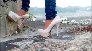 high heels destruction and hard abuse