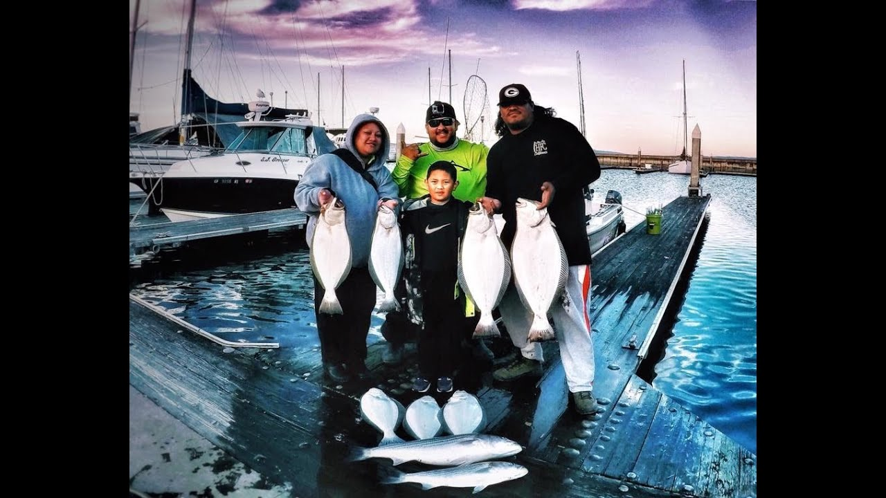 Halibut trolling the san francisco bay with deadliest kast for Sf bay halibut fishing