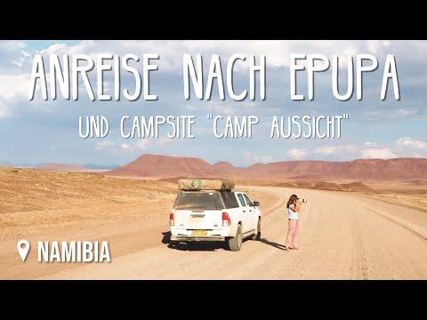 Anreise nach Epupa • Namibia • Weltreise Vlog #145