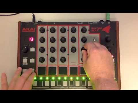Growling Wolf Howl (akai Rhythm Wolf Dirty Jam) video