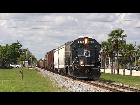 FEC Train 960 in Pompano Beach, FL
