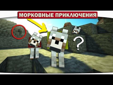 АРМИЯ ВОЛКОВ И ЛАКИ БЛОКИ. 19 - Морковные приключения (Minecraft Let's Play)
